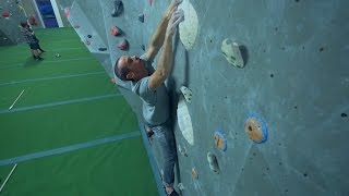 We Are Bouldering With The Arch Crew At The New Gym! by Eric Karlsson Bouldering
