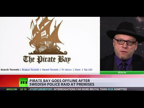 Piratebay.org) - The Pirate Bay and several other torrent websites temporarily disappeared from the internet on Tuesday. Reports say the sites were downed in a raid by Swedis...