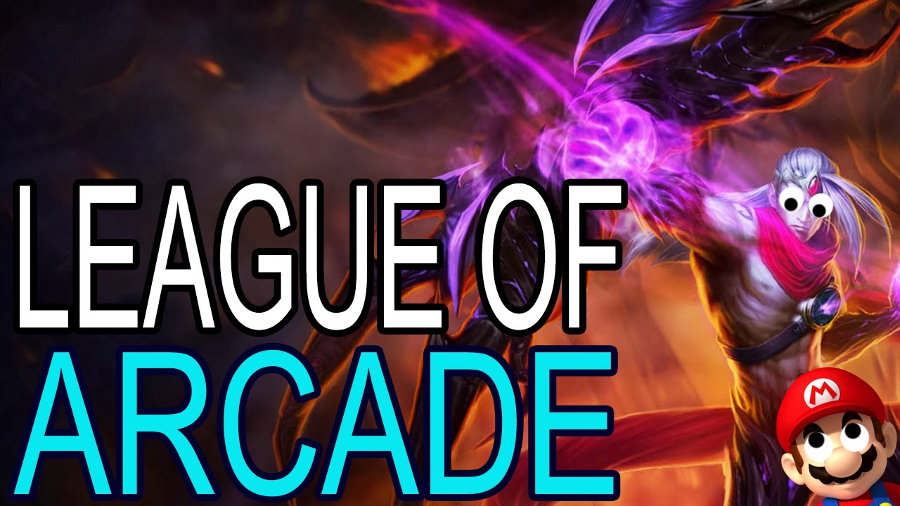 LEAGUE OF ARCADE (music sync) (SPECIAL)