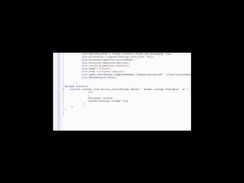 Visual C++ 2008 Tutorial: Screen Capture Program (Part 1)