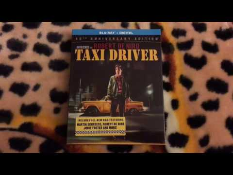 Taxi Driver: 40th Anniversary Edition Blu-ray Unboxing [Filmed In 4K]