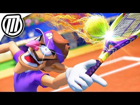 Mario Tennis Aces: ONLINE TOURNAMENT is EPIC!!! - Gameplay Live Stream