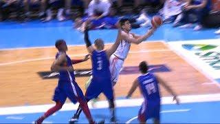Jonathan Grey sidesteps his way to the basket! | PBA Philippine Cup 2019