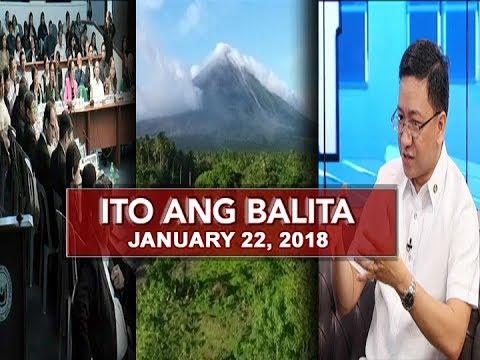 UNTV: Ito Ang Balita (January 22, 2018)