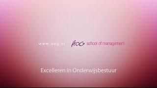 Excelleren in Onderwijsbestuur