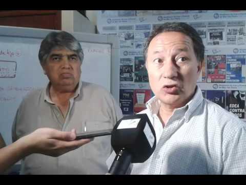 José Rigane en conjunto con Jorge Ceballos