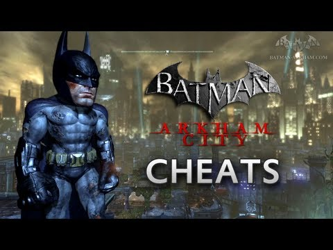 cheats - This video shows and explain all the cheat codes for Batman: Arkham City known to date: 0:03 - BIG HEAD MODE With the