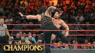 Nonton Roman Reigns Vs  Rusev   U S  Title Match  Wwe Clash Of Champions 2016 On Wwe Network Film Subtitle Indonesia Streaming Movie Download
