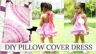 Stalk me - https://goo.gl/1gmCTAYou'll be surprised to see how easy it is to create this cute, beautiful DIY Dress for your little one using an Old Pillow Cover. Enjoy & Keep on Watching!!Just Comment below for more such DIY's videos & don't forget to LIKE & SHARE it with your friends!Sewing Machine Used - USHA Janome Allure MORE AWESOME VLOG--------------------------------------How To Convert Your Old SAREE into a DRESShttps://youtu.be/ztK-1a0ARVsHow To Convert ANARKALI into LEHNGA CHOLIhttps://youtu.be/ADzGuTtFL6oThe Whisper Challenge - Gone Wrong?https://youtu.be/OZzarSc9wKoGood Bye DUBAI... I'll Be Back Soonhttps://www.youtube.com/watch?v=Og106WmMZx4DUBAI Continues ... Meet & Greet, Glow Garden & lot morehttps://youtu.be/ubChMPm-5CcWelcome To DUBAI ...  ShrutiArjunAnandhttps://youtu.be/NlPDQOkP0tMA Million Dollar Smile...  ShrutiArjunAnandhttps://youtu.be/XKyU010Tah0OMG! It's Unbelievable ....#ShrutiVlogshttps://youtu.be/pY4IvLC276YWoh Kaun Thi?https://www.youtube.com/watch?v=oxOgupD2FIQHow To Get Pregnant?https://youtu.be/PO9d-bOR0g4ShrutiArjunAnand @ YouTube FanFest India 2017https://youtu.be/bpmghViw2MgLets Play Holi! A Day In My Lifehttps://youtu.be/udqbhNuA1LAMy Wedding Album #Reactionhttps://youtu.be/l44VwENoVLUThe Valentine Day Wedding - A Day In My Lifehttps://youtu.be/DU5Db1C_BIoMy Cousin's MEHNDI & SANGEET - A Day In My Life https://youtu.be/w2YUIQO4FsMA Day In My Life - Kids Playzone, Shopping Mall, Street Markethttps://www.youtube.com/watch?v=sgmuFYX21Nc#DIML - ANA Growing Up, Lohri Celebrations, Clip Hanger DIYhttps://youtu.be/4p1UkX1GBTwMy New Year Party - Crazy Family Fun, Dance etc..https://youtu.be/v4AcSc0PK_wMy Christmas Party 2016  A Day In My Lifehttps://youtu.be/eSdZcFa_-o4My Cousin's Wedding Day #DIML Vlog  - Fun Unlimitedhttps://youtu.be/zph4WmTNNHMDiwali Celebrationshttps://www.youtube.com/watch?v=yIuhqU5CcLkDiwali Decorations - Home Tourhttps://www.youtube.com/watch?v=StFiKz3QKmAGOA - Part 1  Friends, Food, Beacheshttps://www.youtube.com