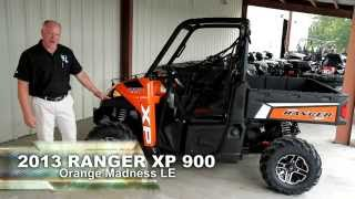 10. 2013 Ranger XP 900 Orange Madness LE