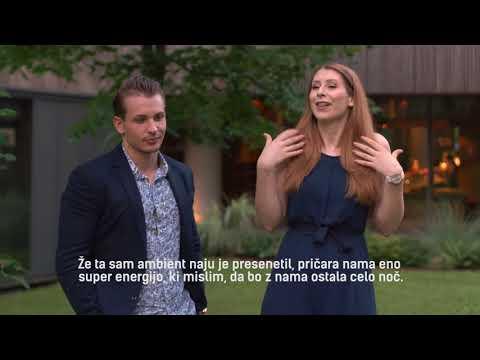 Eva Boto in Žan Serčič o umetniškem hotelu Balnea **** Superior.