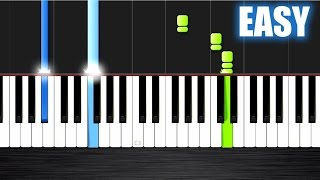 Selena Gomez - The Heart Wants What It Wants - EASY Piano Tutorial