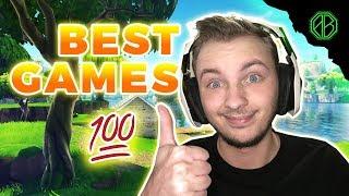 MY BEST GAMES EVER! ( Fortnite Battle Royale Highlights )