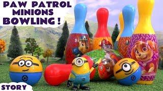 Paw Patrol Minions Bowling