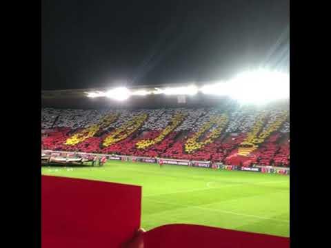 Performance match SK Slavia Praha - Sevilla