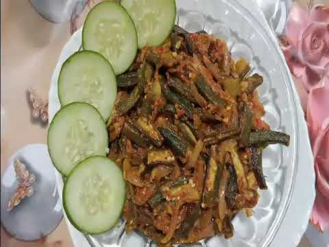 بھنڈی مصالہ کی مزیدار ریسپی behindi masala very delicious recipe