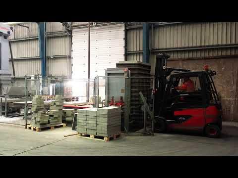 Legged production board - Techmatik semi automatic production line