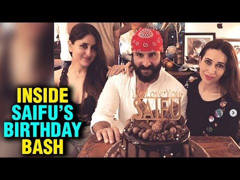 Saif Ali Khan Birthday Bash Hosted By Kareena Kapo