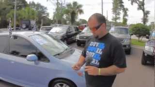 Autoline's 2008 Honda Fit Sport Walk Around Review Test Drive