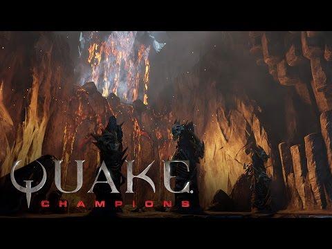Quake Champions – Bande-annonce de l'arène Burial Chamber de