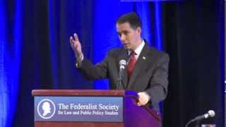 Click to play: Address by Scott Walker - Event Audio/Video
