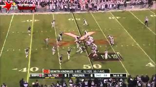 Logan Thomas vs Virginia (2013)