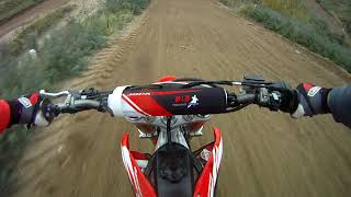 7. First time on A Honda!! (CRF450) 2018