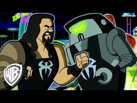 Jetsons & WWE: Robo-Wrestlemania! en Français | Bataille de Robots | WB Kids