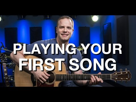 Playing Your First Song – Beginner Guitar Lesson #10