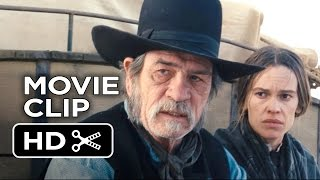 The Homesman Movie CLIP - 4 Good Rounds (2014) - Tommy Lee Jones, Hilary Swank Western HD