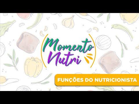 Momento Nutri - Funções do Nutricionista