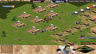 AOE | 3vs3 Assy | GameTV vs Team 6699 | Ngày 17-1-2019 | BLV:G_Kami