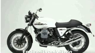 5. 2010 Moto Guzzi V7 Classic - Details, Info