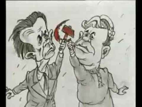 август 1991 - Ельцин сливает ГКЧП в унитаз (видео)