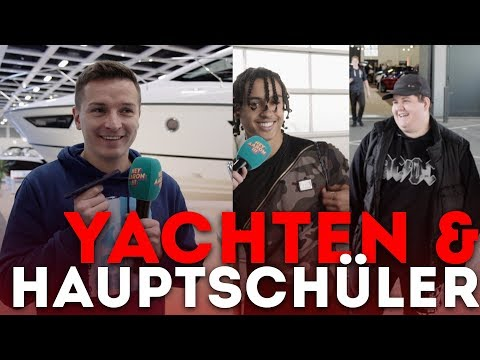 Teure Boote und Hauptschüler - Boot & Fun Messe