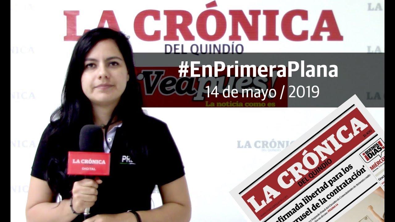 En Primera Plana: lo que será noticia este martes 15 de mayo