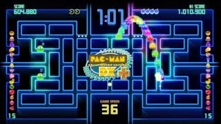 Видео PAC-MAN Championship Edition DX+