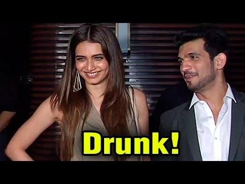 Arjun Bijlani, Aamir & Sanjeeda CAUGHT Drunk | Kar