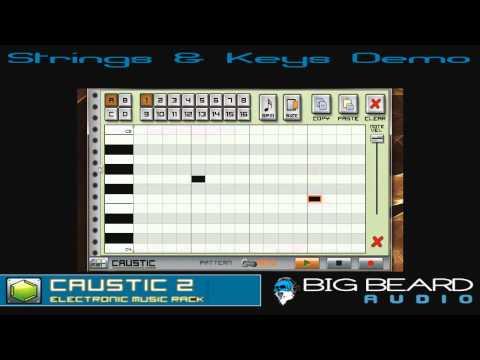 Video of Caustic Pack Strings & Keys V1