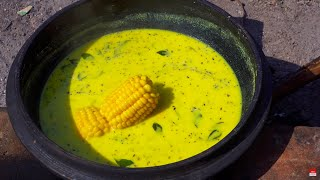 Video American Trying Indian Village Food for the First Time MP3, 3GP, MP4, WEBM, AVI, FLV Februari 2019