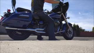 8. V Star 1300 Deluxe Vance and Hines Pro Pipe
