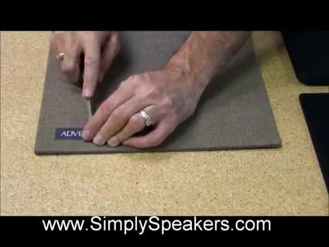 How to Replace Speaker Grill Cloth and Grille Fabric