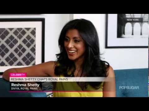 Royal Pains #039; Reshma Shetty on Playing Pregnant and Shooting in Italy   Washington Examiner Vide