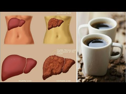 DRINK COFFEE TO REVERSE LIVER DAMAGE CAUSED BY ALCOHOL