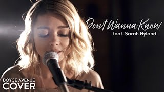 Don't Wanna Know - Maroon 5 (Boyce Avenue ft. Sarah Hyland cover) on Spotify & iTunes Video