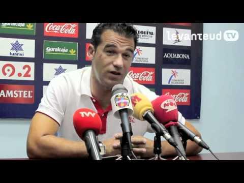 Rueda de prensa de Luis García Plaza