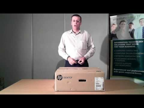 HP ProDesk 400 G1 Unboxing