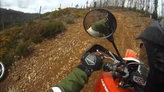 10. OFFROAD - Honda XR 650 R - Suzuki DR 650 - KTM 690 Enduro R  - Husaberg - Yamaha Tenere GO PRO HERO
