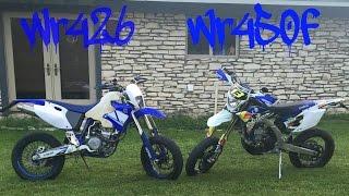 7. 2013 Wr450f supermoto first ride + walkaround