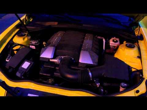 Chevrolet Camaro V8 6.2 -- видеообзор + 0-250